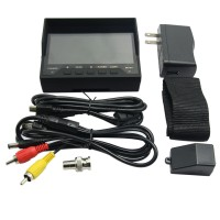 4.3 inch LCD CCTV Video Camera Tester MONITOR COLOR CCTV Security Surveillance CAMERA TESTER With ADSL Detection Engineering