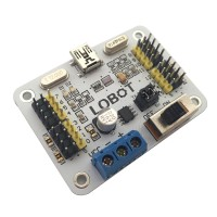 16 channel 16 Ch Servo Motor USB UART Controller Driver Board Overload Protection For MCU Robot Robotics