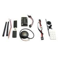 APM Autopilot APM2.6 Flight Control w/ 6M GPS 3DR 433 MHz Telemetry + Power Supply Module Combo