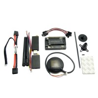 APM Autopilot APM2.6 Flight Control w/ 6M GPS 3DR 915 MHz Telemetry + Power Supply Module Combo