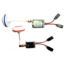 5.8G 32CH 2S-6S DC Receiver RX5832 + Q Transmitter TX + Antenna for Multicopter FPV Photography