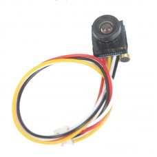 "1/4"" HD Mini CCTV 420TVL CMOS Security Audio Video Color Micro Camera Mic for Wireless Telemetry"