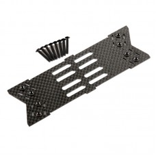 KYLIN 250 Quadcopter Accessory 2mm Carbon Fiber Fuselage Lower Board Plate 1-Pcs
