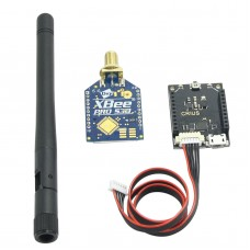 XBee PRO 900HP S3B Module with Adapter Micro USB Port  for Pixhawk PX4 Flight Controller