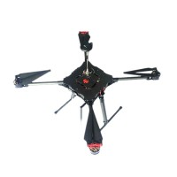Menqin QF-700 4-Axis Auto Umbrella Folding Quadcopter Frame 700mm  FPV Carbon Fiber Multi-rotor