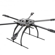 X800-V6 Pure Carbon Fiber Multirotor 800MM FPV Hexacopter UAV Drone Frame Kit