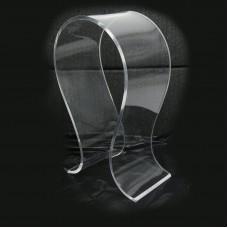 Acrylic U-shape Earphone Rack Holder Display Stand  Headset Transparent Headphone