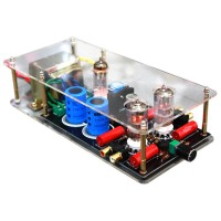 6N3+6Z4 Tube Valve Pre-AMP Class A Audio Stereo Preamplifier Include Transformer