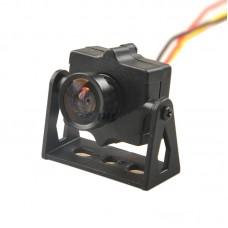 HMCAM700 FPV 520TVL HD Mini Camera with Camera Mount PAL Format for QAV250 Quadcopter
