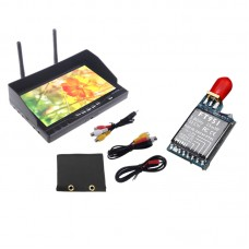 7inch Display 5.8GHZ LCD5802 Monitor Double Antenna FPV Aerial Wireless Diversity Receiver