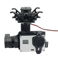 Tarot T4-3D 3-axis FPV Brushless Gimbal For Gopro Hero4/GOpro3+/Gopro3 TL3D01