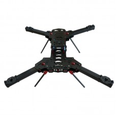 H420 4-Axis 3K Carbon Fiber Folding Quadcopter Frame with Landing Gear for FPV