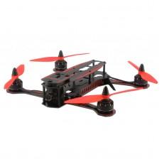 GT-250 250MM Quadcopter PCB Racing Glass Fiber Plate Aircraft FPV Multirotor Frame Kit - Red