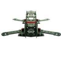 FeeYoung ZX-250 V2 4-Axis Black Carbon Fiber Quadcopter Frame QAV250 Mini Quadcopter for FPV