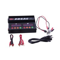 2B6AC 5A 50W Dual RC LiPo Battery Charger Discharger Multifunctional Balance Charger