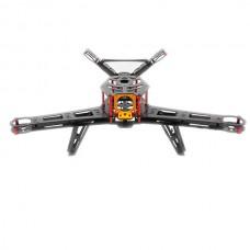 3K Carbon Fiber V400 Alien V-tail FPV Quadcopter UAV Drone Multirotor Frame Kit