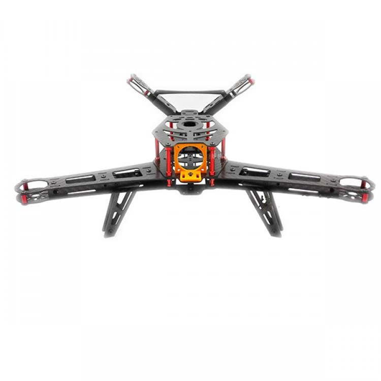 3K Carbon Fiber V400 Alien V-tail FPV Quadcopter UAV Drone ...