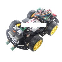 WiFi HD720P Arduino Smart Car Wireless Video Remote Control Car MCU Arduino Microcontroller WiFi Car Kit