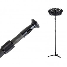 GoPro HERO 360 Degree Spherical Panorama Carbon Fiber Extended Pole