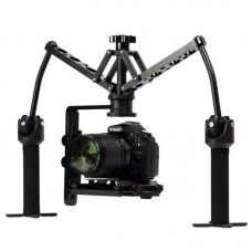 DUAL GIMBAL Handheld Stabilizer Video Steadicam Steady for DSLR Camera Camcorder