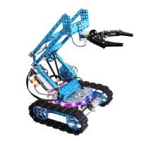 Makeblock Ultimate Robot Comprehensive Kit Blue 2D of Aluminum Arm DIY Maker