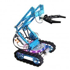 Makeblock Ultimate Robot Comprehensive Kit Blue 2D of Aluminum Arm DIY Maker