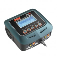 SKYRC AC DC 100-240V 1-6S 2x100W Dual Balance Charger D100 for RC Model Airplane Multicopter