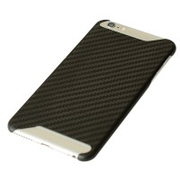 Ultra Thin Cover 3D Stereo Deluxe Coque 3K Real Pure Carbon Fiber Matte Polishing Case Protector for iPhone 6