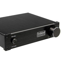DC12-36V Indeed Audiophile Quality Class D High Power HiFi TDA7498E 160WX2 Stereo Amplifier Black