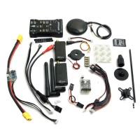 Pixhawk PX4 Autopilot PIX 2.45 Flight Controller 32 bit ARM Set with UBLOX LEA 6H GPS 3DR Radio Telemetry Case for RC Model