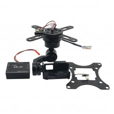 V2.0 X-CAM A10-3H 3 Axis Brushless Gimbal Auto Stabilization Gorpo Gimbal for Multicopter FPV Photography