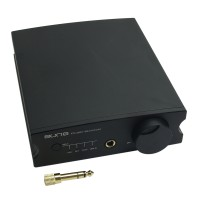 Aune X1S 32Bit 384 DSD128 ESS9018K2M USB Interface Audio Amp Decoding Amplifier-Black