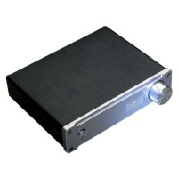Class D Digital Indeed High Power TDA7498E 160WX2 4 Ohm HiFi Stereo Amplifier Silver + 36V5A Adapter