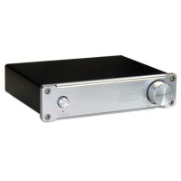 Digital High Power HiFi Indeed Audiophile Quality Class D TDA7498E 160WX2 Stereo Amplifier Silver Panel