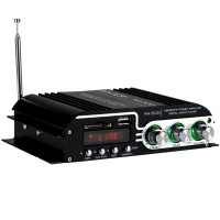 Kinter MA-500 4-Channel Mini Amplifier Home Amp with Remote USB MP3
