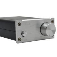 ZHILAI K3 TPA3118 DC12V Aluminum Digital HIFI T-Amp Mini Stereo Amplifier Pro Audio Equipment Silver