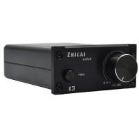 ZHILAI K3 TPA3118 DC12V Aluminum Digital HIFI T-Amp Mini Stereo Amplifier Pro Audio Equipment Black