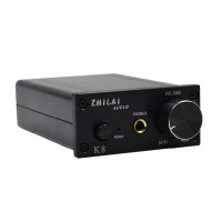 Desktop HIFI Amp ZHILAI K8 Digital Audio Fidelity Headphone Stereo Power Amp Amplifier Black