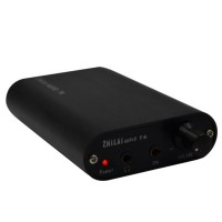 ZHI LAI Salar T4 Induced HIFI Amp Aluminum Portable Desktop Headphone Amplifier Sound Filter
