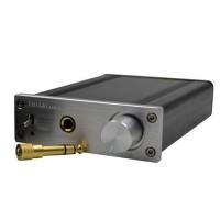 ZHI LAI K4 Digital HiFi Amplifier Desktop Power Stereo Amplifier High-Power Headphone Amp Silver