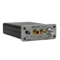 ZHILAI H10 Decoder DAC Audio Converter Amp USB Computer Sound Card Headphone Amp 24BIT 192Khz White