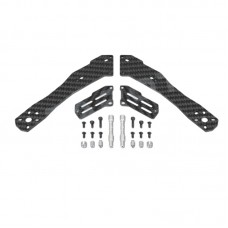 Tarot TL280H 4-Axis Quadcopter Spare Part Half-Carbon Fiber Back Arm 1 Set TL280F2 for Multicopter