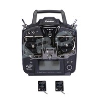 Tarot Futaba T10J Double Receiver Transmitter TL2730 Remote Control for Multicopter Helicopter
