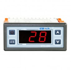 LCD Display Microcomputer Intelligent Digital Alarm Temperature Controller Thermostater 110V AC STC-200