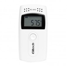 RC-4H LCD Display Temperature and Humidity Data logger Recorder Portable 8000poins Data recorder with Probe