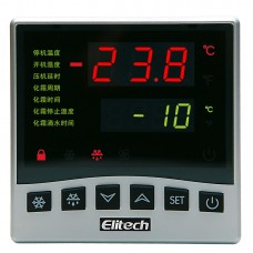 AC 220V LTC-100 LED NTC Microcomputer Temperature Controller Refrigeration and Defrosting Large Panel LED