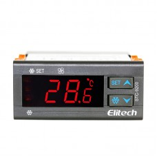 AC 220V Double Controlled Defrost STC-9200 Temperature Controllers Temperature Recorder Sensor Thermostat Measuring