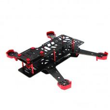 NEWEST DALRC DIY FPV Mini Drones Race Quadcopter DL265 Carbon Fiber Frame Unassembled Support 1806 2204 Motor 12A ESC