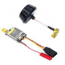 DALRC QTX250 5.8G 250mW 32CH Audio Video AV Transmitter with Mushroom Antenna for FPV Multicopter