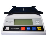 5kg /0.1g Big Size Digital Electric Jewelry Gram Gold Gem Coin Lab Bench Balance Weight Accurate Scale Electronic Scale Weigh Amput APTP 457A